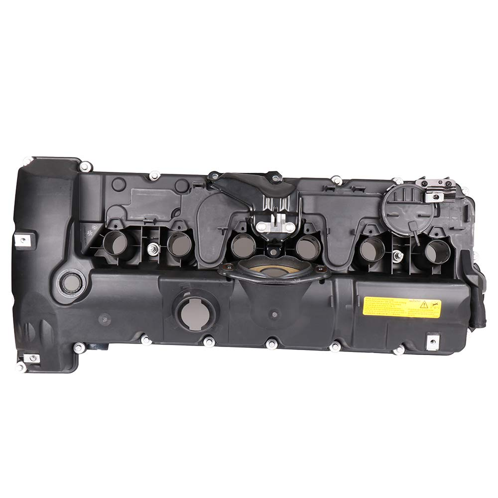SCITOO Engine Valve Cover with Gasket Replacement for BMW E82 128i E92 328i 528i X3 X5 E86 Z4 2006-2013 Valve Cover Gasket Set QR25DE by SCITOO