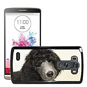 Hot Style Cell Phone PC Hard Case Cover // M00129320 Puppy Standard Poodle Dog // LG G3 VS985