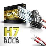 2006 audi a6 ac hid 55 watts - OPT7 Bolt AC H7 Replacement HID Bulbs Pair [6000K Lightning Blue] Xenon Light