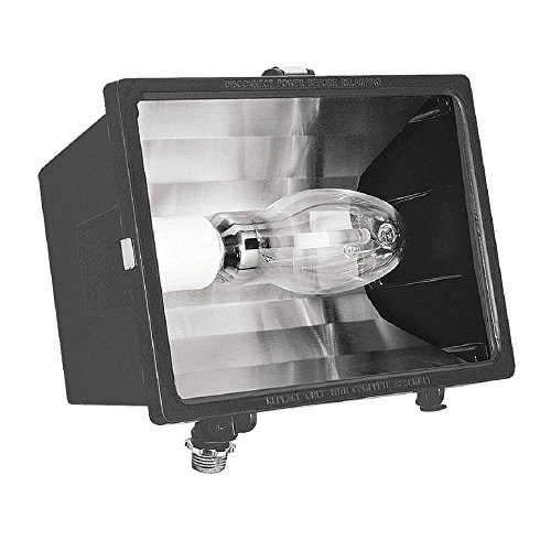 Lithonia Lighting F150SL 120 M6 1 Lamp 150W High Pressure Sodium Flood Light, Bronze