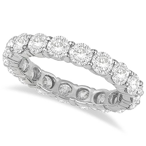 Diamond Eternity Ring Wedding Band Palladium (3.75ct) Diamond Palladium Wedding Band