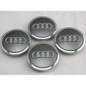 SDSB 4pcs FOR AUDI A3 A4 A6 RS4 WHEEL CENTER HUB CAP 4B0 601 170 A NEW SET