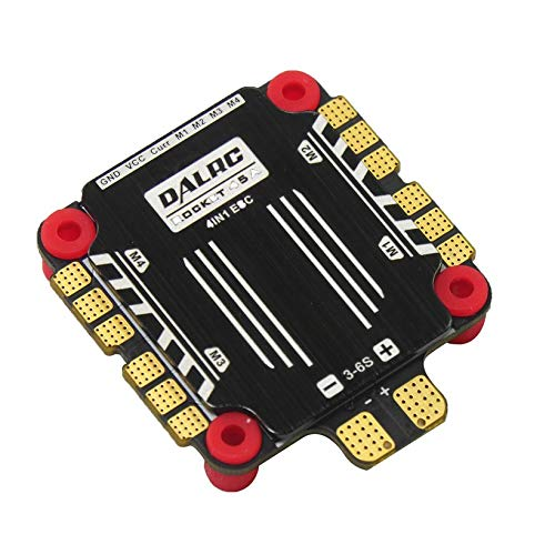 Wikiwand DALRC Rocket 45A 4 in 1 ESC Brushless 3-6S Blheli_32 LIHV DSHOT1200 for Drone by Wikiwand (Image #8)