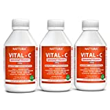 Vitamin C Liposomal* European Quali-C with Phosphatidylcholine from Sunflower Lecithin, Soy Free, Sugar Free, No Artificial Sweeteners, Non-GMO, High Potency 1,000mg, 3-Bottle Pack (30 Total Servings)