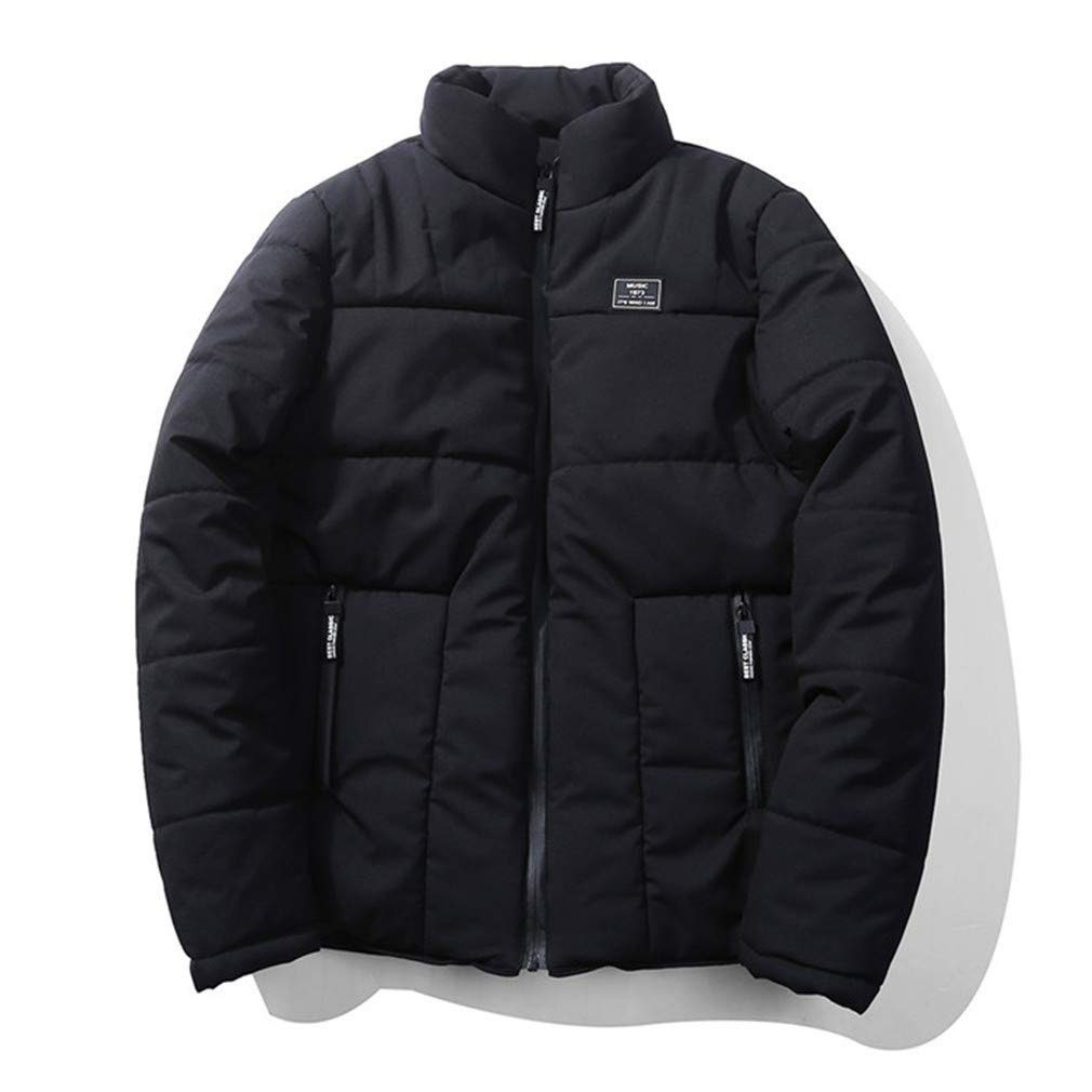 HARERSI Mens Jackets and Coats Thick Warm Parka Outwear at Amazon Mens Clothing store: