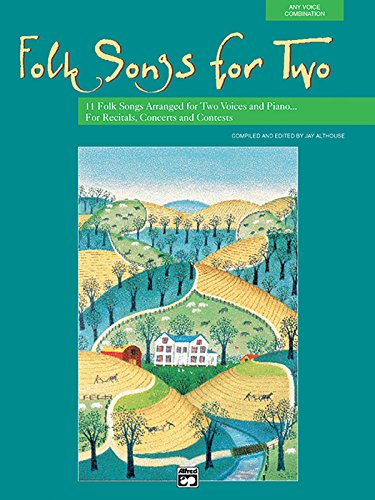 Folk Songs For Two (Any Voice Combination) (Book & CD)
