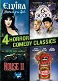 4 Horror Comedy Classics (Elvira / Transylvania 6-5000 / Return of the Killer Tomatoes / House II)