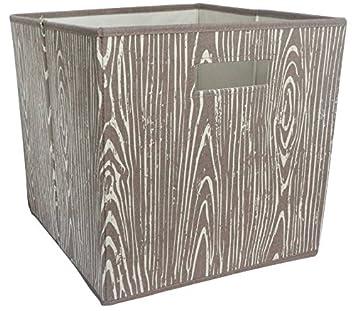Etonnant Fabric Cube Storage Bin (13u0026quot;x13u0026quot;) Mint ...