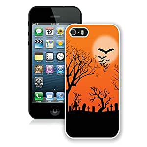 Recommend Design Iphone 5S Protective Cover Case Halloween iPhone 5 5S Case 8 White