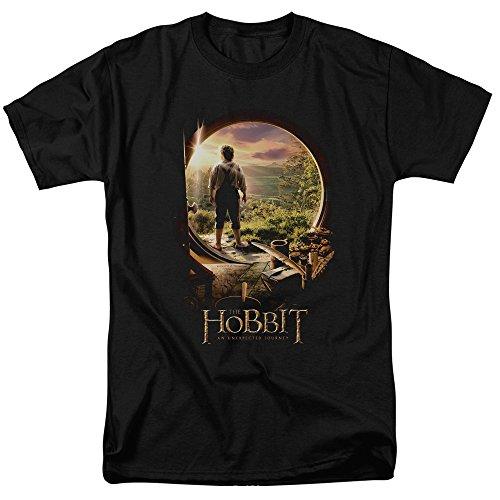 Price comparison product image The Hobbit Hobbit In Door Mens Short Sleeve Shirt BLACK 4X