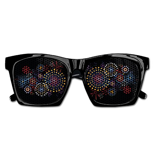Vector Fireworks Party Sunglasses Mesh Lens Glasses Costume Sunglasses Eyewear For Groom Party Wedding - Vector Sunglasses