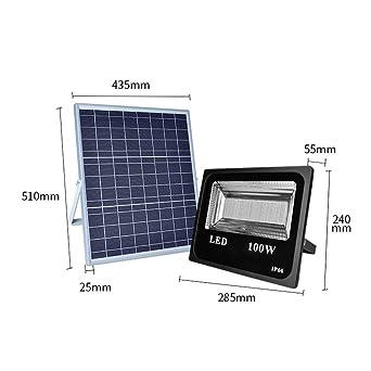 Colores RGB Solar Foco Proyector LED Exterior, Luces de seguridad ...