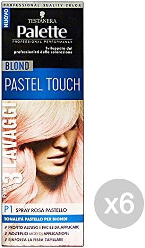 Set 6 Palette Spray P1 Rubio Pastel Touch Tinte de pelo Y ...