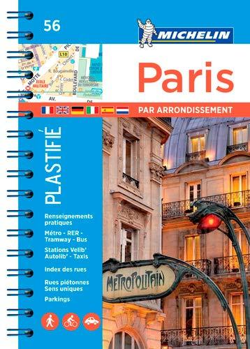 Plan Paris par Arrondissements (Spirale Plastifie)
