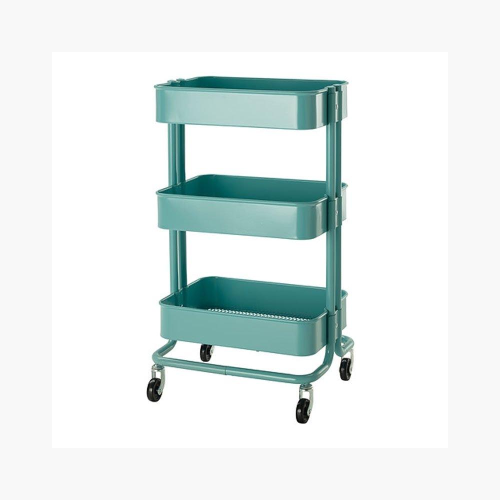 Portable Kitchen Pantry Furniture Amazoncom Raskog Home Kitchen Bedroom Storage Utility Cart