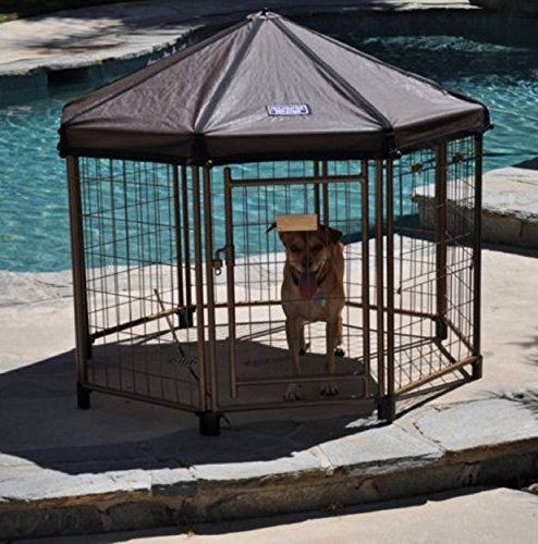 Mailbox Types Of Shelters : New outdoor dog gazebo shelter kennel pet enclosure shade