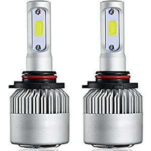 9007 Led Headlight Bulb, Best Cooling 72W 8000LM 6500K All-In-One 9007 Led Headlight Conversion Kit