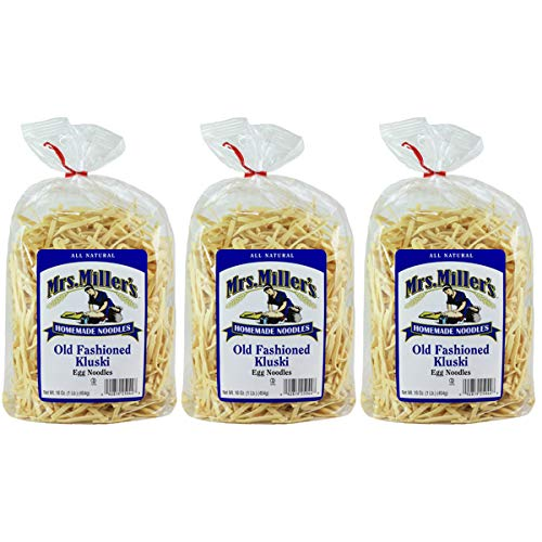 (Mrs Miller Kluski Noodles, 16-Ounce Bags (Pack of)