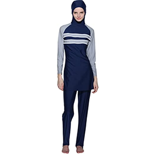 a32a1b26b2 Image Unavailable. Image not available for. Color  YONGSEN Islamic Swimsuit  Muslim Swimwear Hijab Female For Women Bathing Burkini