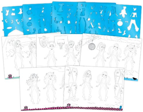 Buy Fashion Angels Monster High Super Sketch Portfolio Online At Low Prices In India Amazon In