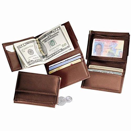 Royce Leather Men's Money Clip Wallet New Royce Leather