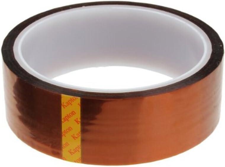 KAPTON TAPE Polyimide Hitzebeständiges Einseitig Klebeband 33M Breite 5mm-60mm