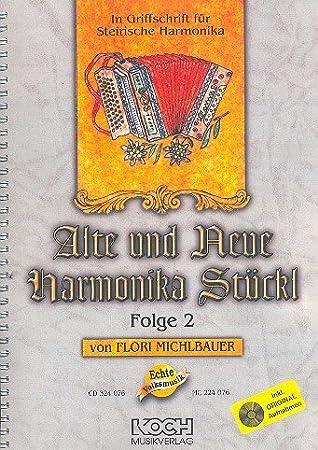 Vieja y Nueva Armónica stückl banda 2: para steirische Armónica en mango Texto: Amazon.es: Instrumentos musicales