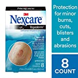 Nexcare Tegaderm Waterproof Transparent Dressing, Tough, Made by 3M, 2-3/8 Inches X 2-3/4 Inches, 8 Count