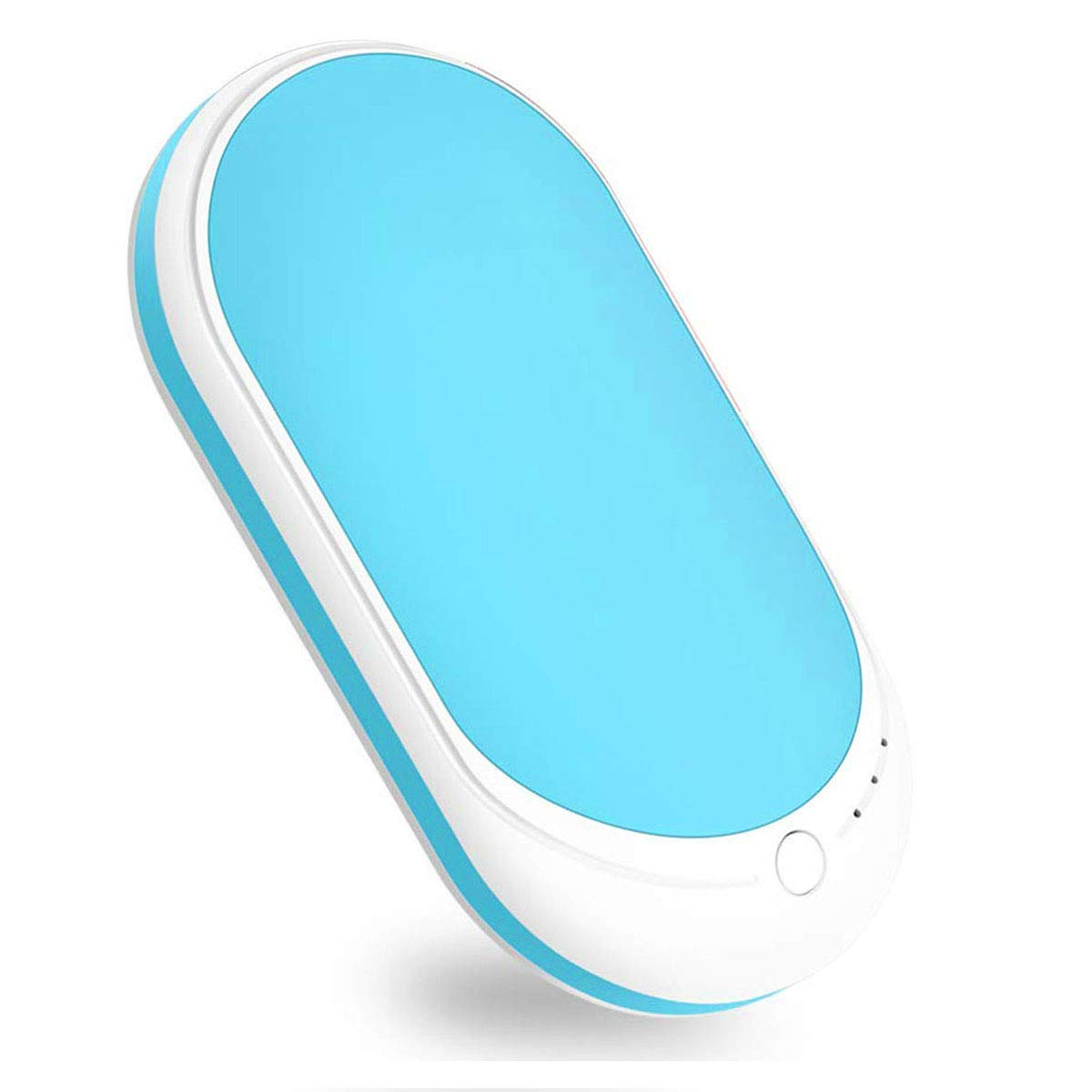 ThreeLeaf Rechargeable Hand Warmer 5200mAh Electronic Portable Instant Heating/USB Back-up Power Back Battery for Samsung.iPhone