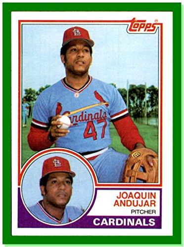 1983 Topps #228 Joaquin Andujar RIP ST. LOUIS CARDINALS (1983 St Louis Cardinals)