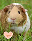 Student Academic Planner 2019-2020 I Love All Guinea Pigs: Daily Organizer Calendar Class Schedule, School Assignment Tracker, Grade Log Book, Goals, Notes Pages, Weekly Monthly (School Organizer)