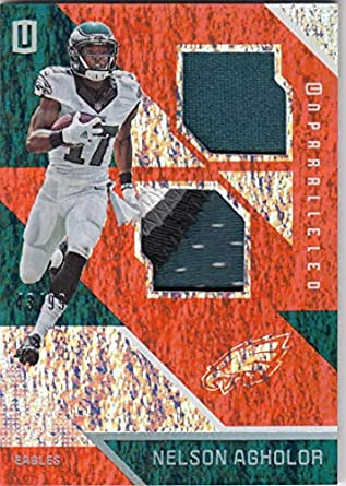 caa778ab2d6 Amazon.com: 2016 Panini Unparalleled #35 Nelson Agholor #35 NM Near Mint  MEM 43/99: Collectibles & Fine Art