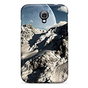 Awesome Case Cover/galaxy S4 Defender Case Cover(covered With The Snow)