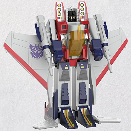 Hallmark Transformers Starscream Ornament keepsake-ornaments Toys & (Animated Christmas Ornament)