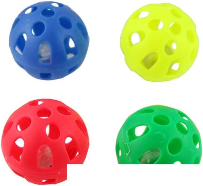 4 pelotas gato cascabel en Lot, multicolor diámetro 5 cm my ...