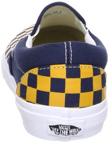 Vans U CLASSIC SLIP-ON (VINTAGE CHECK) - Zapatillas de casa de lona unisex multicolor - Mehrfarbig (Vintage Check))