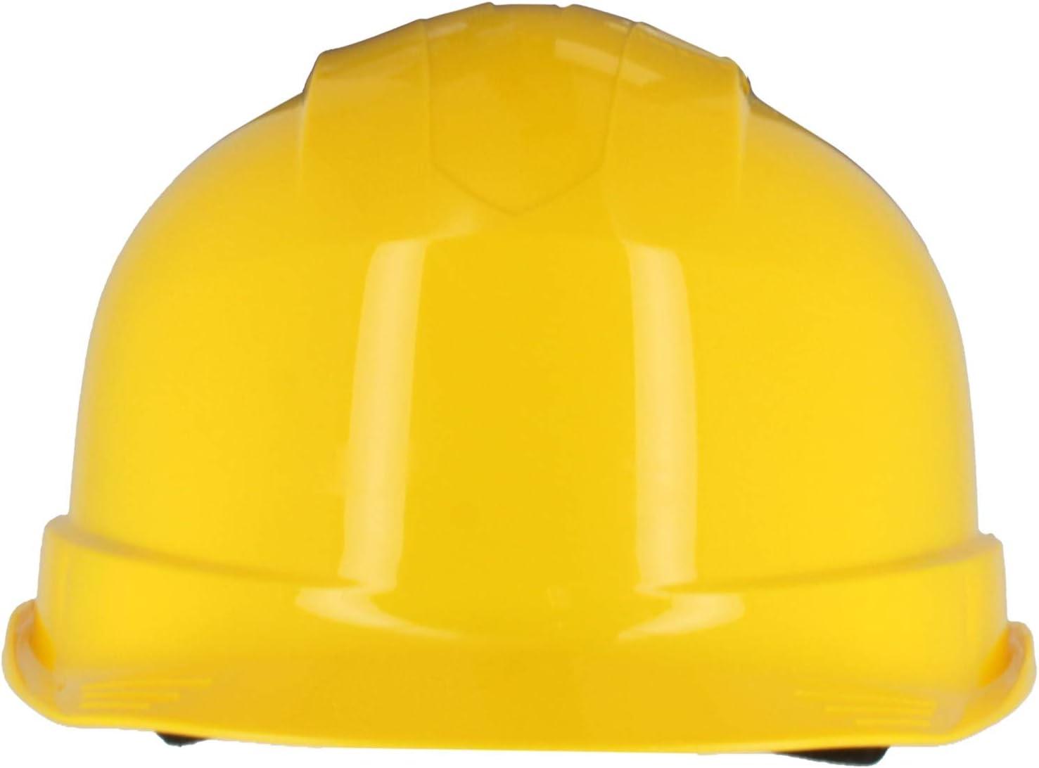 Chapeau Rigide de Construction ventil/é Silent SL1470 Casque de s/écurit/é Industriel Bleu certifi/é en 397 et A1 Harnais 6 Points