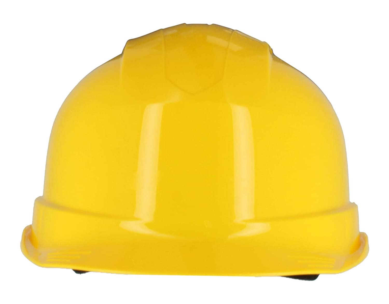 EN 397 /& A1 Certified 6 Point Harness Basic Wheel Adjustment, White Ventilated Construction Hard Hat Silent SL1470 Industrial Safety Helmet