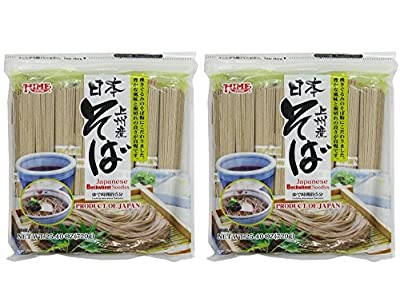 Twin Pack Hime Dried Buckwheat Soba Noodles, 25.40 Ounce (Pack of 2) by Hime