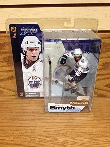 RYAN SMYTH Edmonton Oilers WHITE JERSEY NHL Series 4 McFarlane Action (Ryan Smyth Edmonton Oilers)