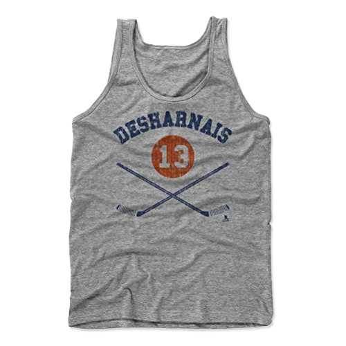 David Desharnais Sticks B Edmonton Men's Tank Top XL Athletic Gray