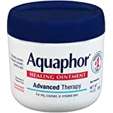 Aquaphor Healing Ointment,Advanced Therapy Skin Protectant 14 Ounce (Pack May Vary)