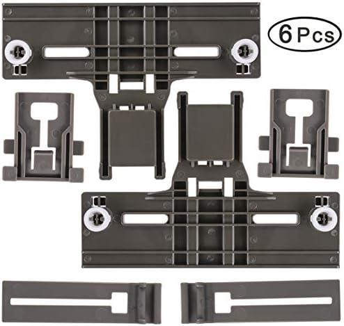 W10350376 /& W10195840 /& W10195839 Dishwasher Top Rack Adjuster Dishwasher Positioner for Whirlpool Dishwasher Adjuster 665,w10350374,w10195840