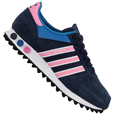 Adidas Herren La Trainer Sneakers Grau (duidelijk Onix / Macht Rood / Ftwr Wit)