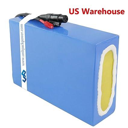 Amazon.com: Ebike - Batería de polímero de litio de 48 V y ...
