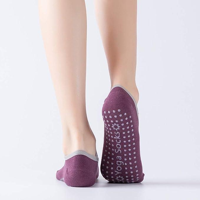 Amazon.com: iNoDoZ Women Yoga Socks Anti Slip Finger ...