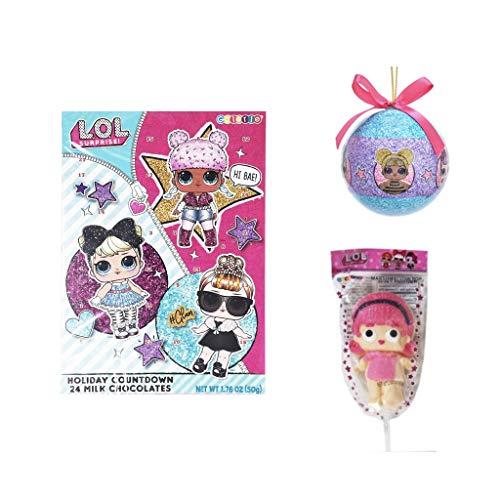 [해외]LOL Surprises Advent Calendar Ornament and Marshmallow Pop / LOL Surprises Advent Calendar, Ornament, and Marshmallow Pop