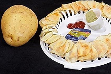 Omeny Bricolaje Conveniente Microondas Patatas Sano Chips ...