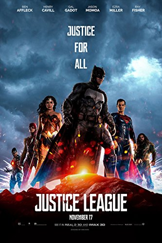 Justice League 24x36 Movie Poster