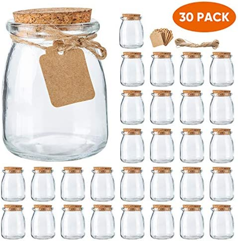 Yogurt Pudding Containers Wedding Favors product image